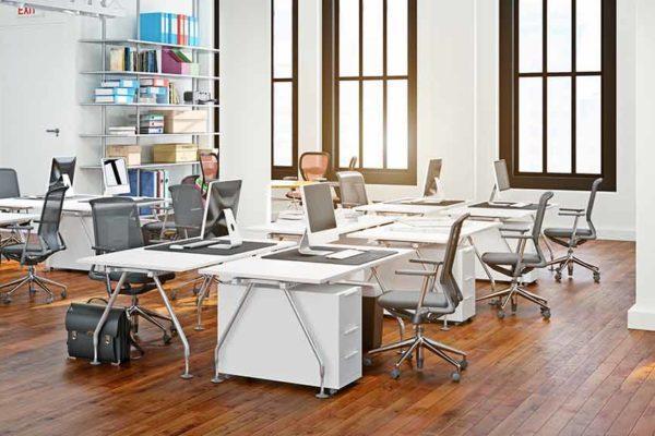 7 façons de réussir l'aménagement de ses bureaux en flex-office